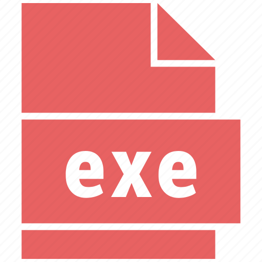 exe, misc file format, windows executable file icon