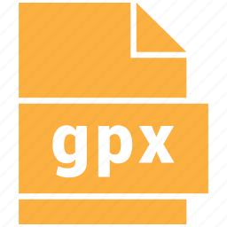 file formats, gpx, misc, misc file format icon