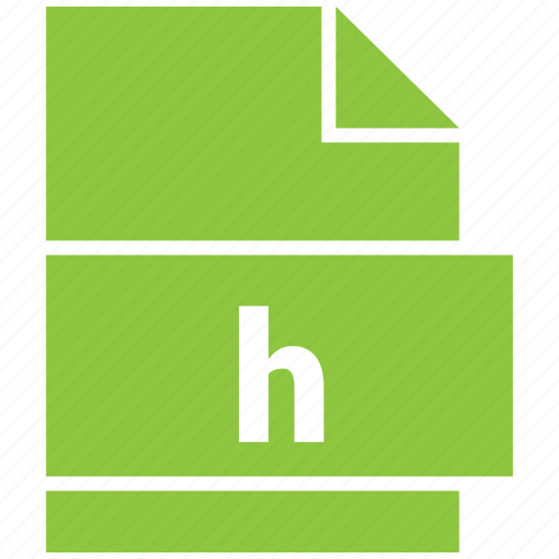 file formats, h, misc, misc file format icon