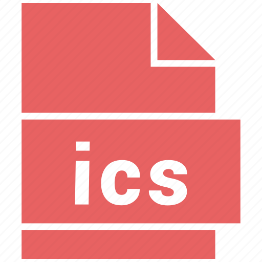 file, ics, misc file format icon