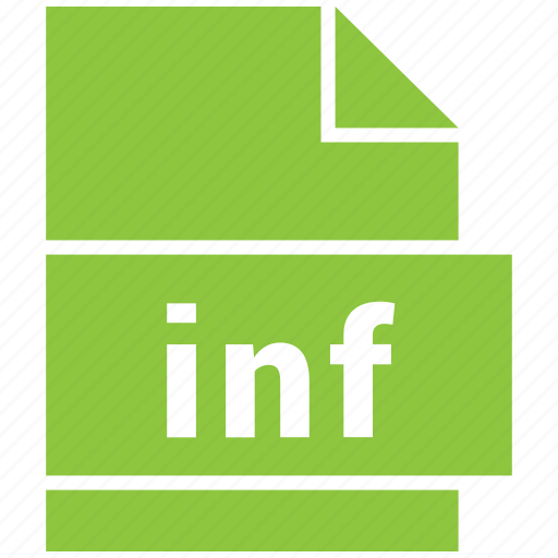 file formats, inf, misc, misc file format icon