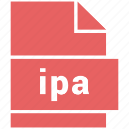 file, ios, ipa, misc file format icon