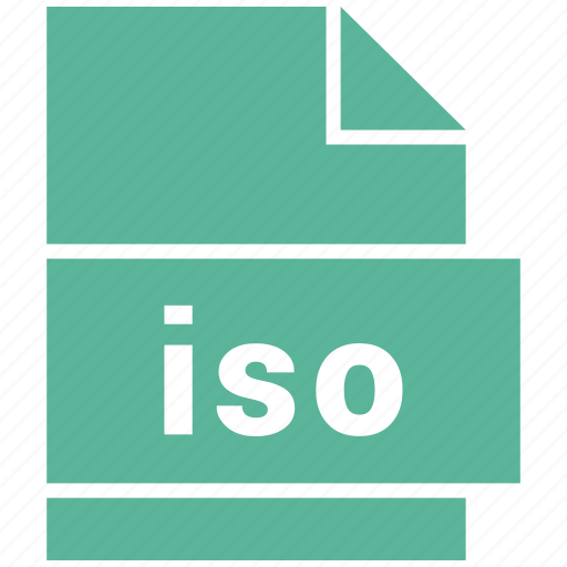 disc image file, iso, misc file format icon