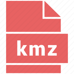 kmz, misc file format icon