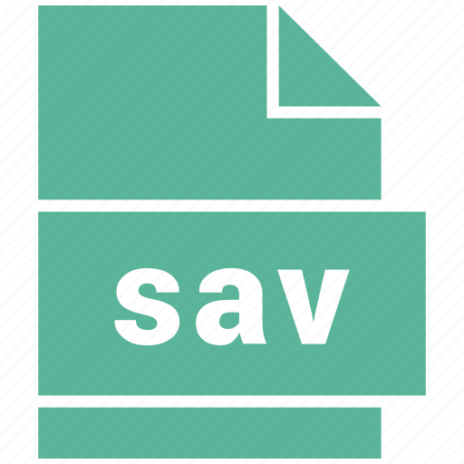 misc file format, sav icon