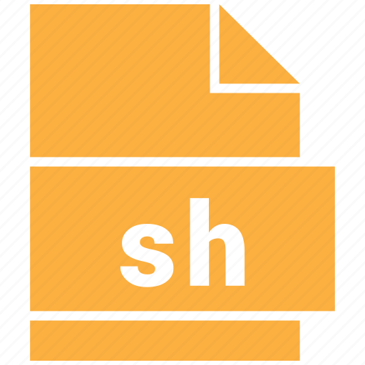 misc file format, sh icon