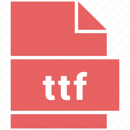file, font, format, misc file format, ttf icon