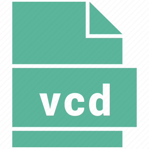 misc file format, vcd icon