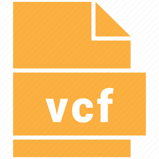 misc file format, vcard file, vcf icon
