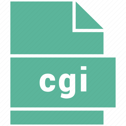 cgi, document, misc file format icon