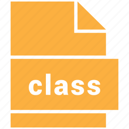 class, file, format, misc file format icon