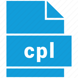 cpl, file formats, misc, misc file format icon