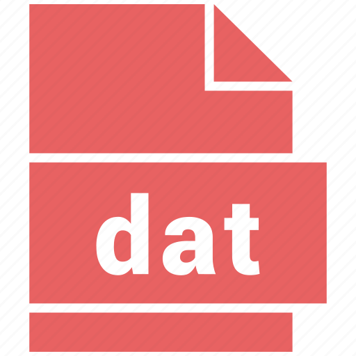 dat, misc file format icon