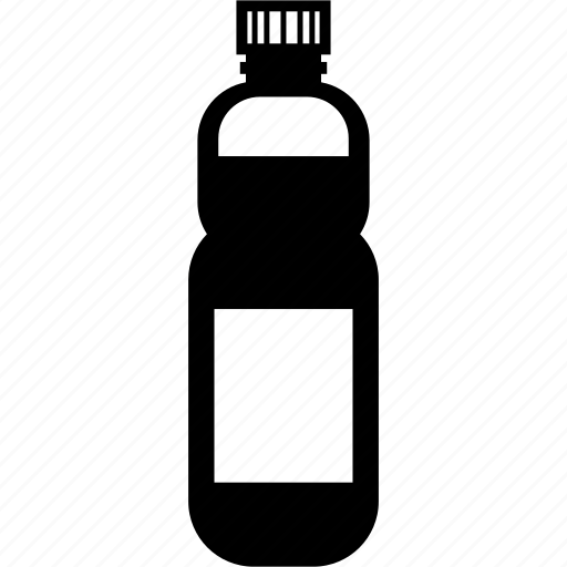 bottle, drink, plastic, recyclable, water icon