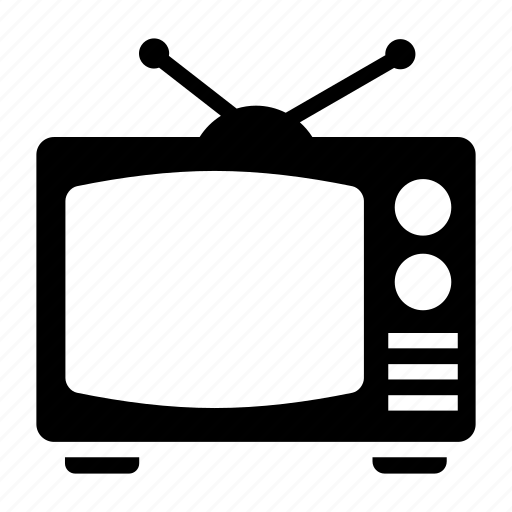 screen, television, tv, tv set icon