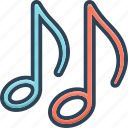 classical, clef, melody, music, musical, note, sound icon
