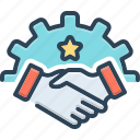alliance, association, cooperation, fellowship, handshake, league, partnership