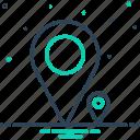 enormous, extensive, gps, mark, massive, navigation, venue icon