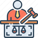 authority, constitution, hammer, judgment, jury, justice, prosecutor