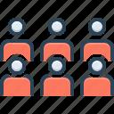 crowd, group, horde, multitude, others, people