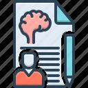 brain, counseling, memories, neurology, psych, psychologist, report
