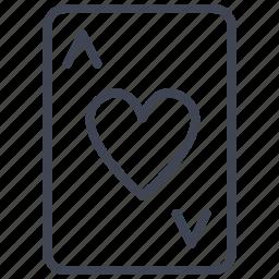 ace, card, casino, game, hearts, miscellaneous, poker icon