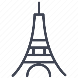 eiffel, france, miscellaneous, monument, tower icon