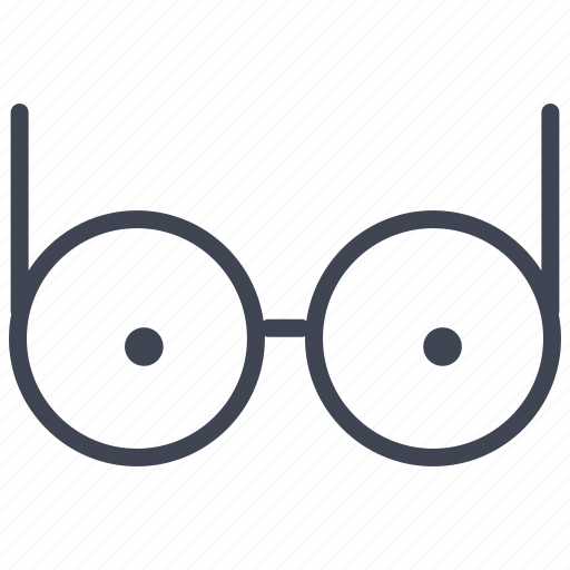 eyeglasses, eyes, glasses, miscellaneous, spectacles icon