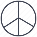 freedom, miscellaneous, peace, shape, sign icon