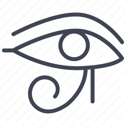 egypt, egyptian, eye, miscellaneous, pharaoh icon