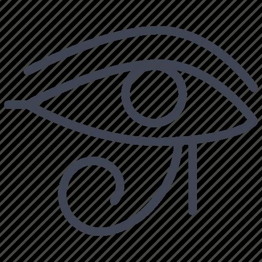 Eye, pharaoh, egypt, egyptian, miscellaneous icon - Download on Iconfinder