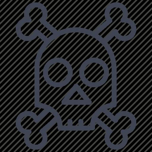danger, death, halloween, miscellaneous, pirate, pirates, skull icon