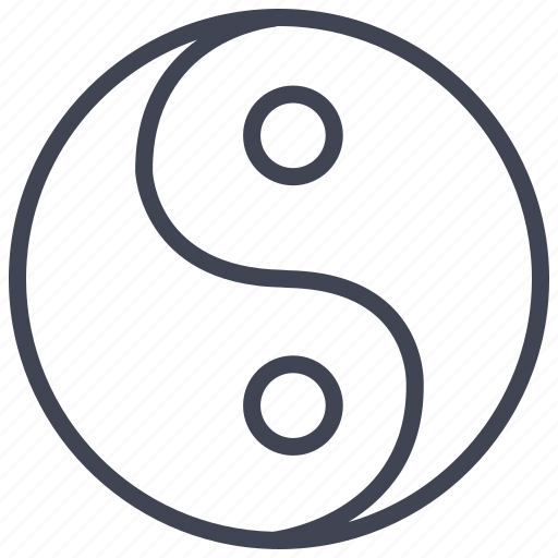 Yang, ying, miscellaneous, sign, yinyang icon - Download on Iconfinder
