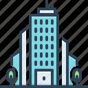 business, bureau, corporation, association, house, office, company icon