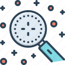 discover, explore, finding, observe, discovery, magnifying, detect icon