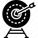achievement, accurately, shooting, range, archery, exactly, target icon