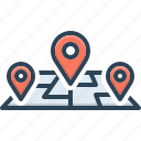 track, location, destination, tracking, path, address, navigation
