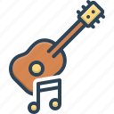 guitar, musical, music, acoustic, musician, performance, instrument