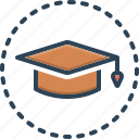 academic, educational, hat, diploma, institution, achievement, college