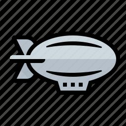 balloon, blimp, zepelin, zepplin icon