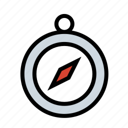compass, map, navigation, navigator icon