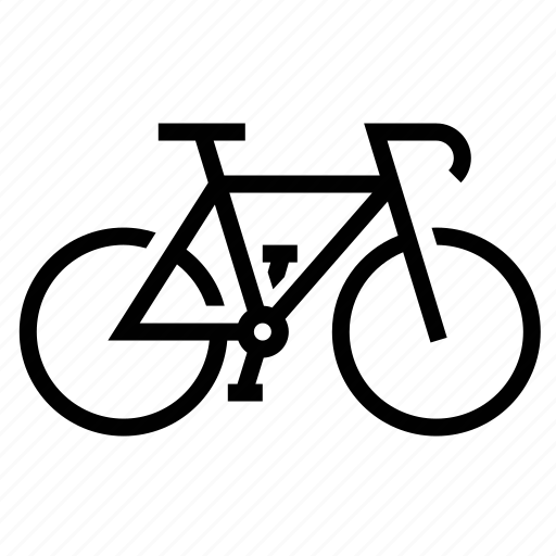 bicycle, bike, cycle, pedal icon