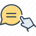 comment, feedback, message, blog, chat, dialog, bubble