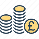 pound, cash, coin, currency, capital, finance, british currency
