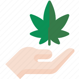 hand, marijuana, pot, weed icon