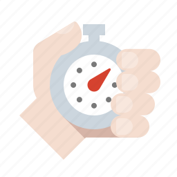 clock, hand, stopwatch, timer icon