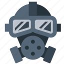 biohazard, gas mask, hazard, poison icon