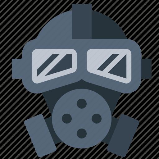 biohazard, gas mask, hazard, poison icon