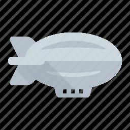 air ship, balloon, blimp, zepelin, zepplin icon