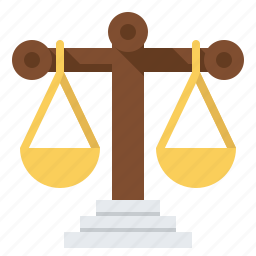 balance, justice, law, legal, scale, weight icon